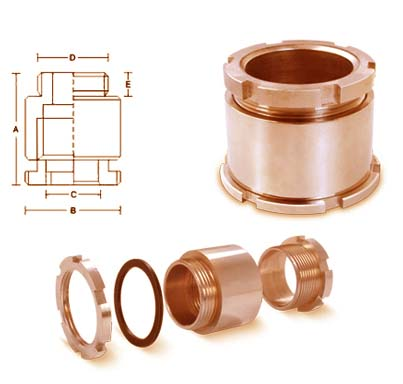Brass Marine Cable Glands