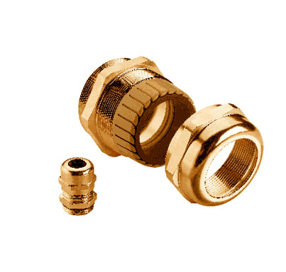 Brass Metric Strain Relief Cable Glands